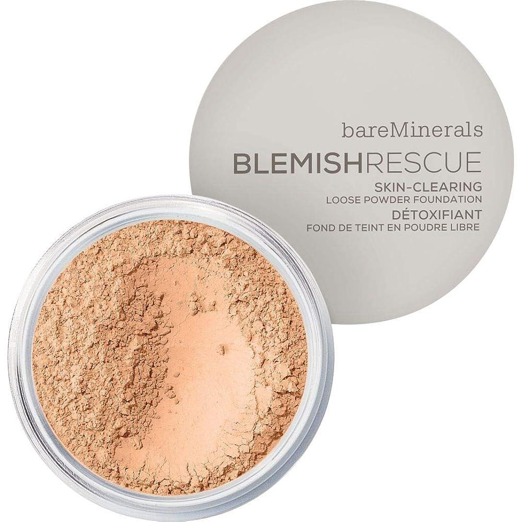 土曜日速度回転[bareMinerals ] ベアミネラルは3.5Nwを6Gレスキュースキンクリア緩いパウダーファンデーションを傷 - 黄金のヌード - bareMinerals Blemish Rescue Skin-Clearing Loose Powder Foundation 6g 3.5NW - Golden Nude [並行輸入品]