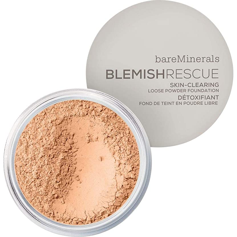 午後タヒチキャッシュ[bareMinerals ] ベアミネラルは3.5Nwを6Gレスキュースキンクリア緩いパウダーファンデーションを傷 - 黄金のヌード - bareMinerals Blemish Rescue Skin-Clearing Loose Powder Foundation 6g 3.5NW - Golden Nude [並行輸入品]
