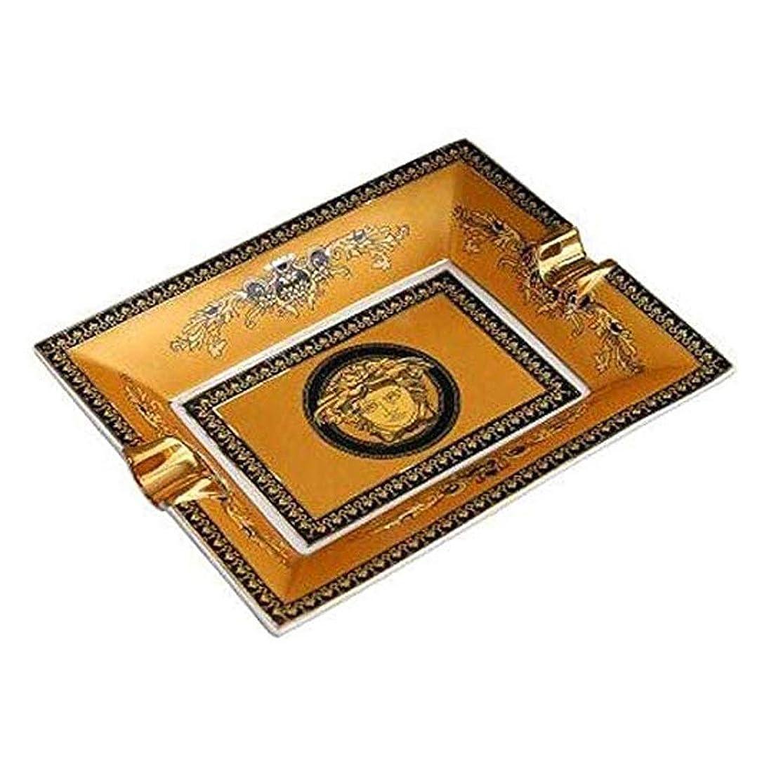 条約シンジケート病的TWDYC セラミック灰皿携帯灰皿葉巻、ホームテーブルデスクアクセサリーインテリアギフトホルダー