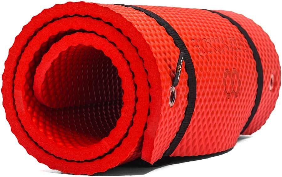 Bootymats Pilates Pro - Esterilla de Gran tamaño Ideal para Ejercicios de Pilates de Suelo. Extra Acolchada. Máximo Confort y Comodidad. Medidas: 180 x 60 cm. Grosor: 19 mm