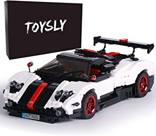 TOYSLY Mini Sports Car Zoda MOC Building Blocks and Construction Toy, Adult Collectible Model Cars Set to Build, 1:14 Scal...