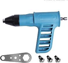 Electric Rivet Gun Adapter, Trådlös borradapter med handtag, bärbar insatsmutter Verktyg Blind Rivet Machine Conversion To...