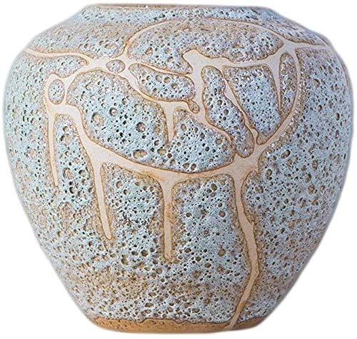 YONGYONGCHONG vaas keramische bloem aardewerk pot bloempot antieke veranda porselein ornamenten retro grijs groot medium en klein 15 * 9 * 33.5cm pot