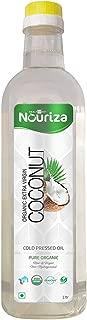 Cold Pressed Organic Extra Virgin Coconut Oil 1 L (33.81 Oz )