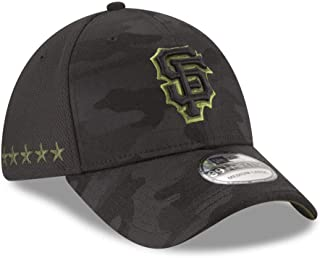 New Era Authentic San Francisco Giants Black 2018 Memorial Day 39THIRTY Flex Hat