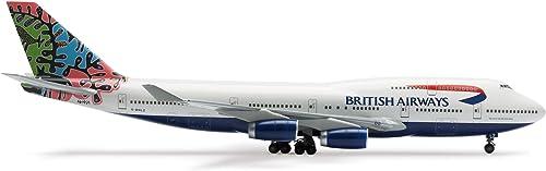 la calidad primero los consumidores primero Herpa Herpa Herpa 552202 Wings - British Airways Boeing 747-400  Botswana - Animales y Plantas  te hará satisfecho