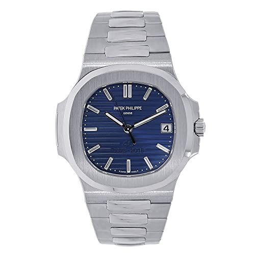 Patek Philippe Nautilus 40mm Platinum 40th Anniversary Watch 5711-1P