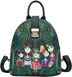 Fashion Backpack Purse, ✦◆HebeTop✦◆ Casual Travel Waterproof Forest Girls Pattern School Bag