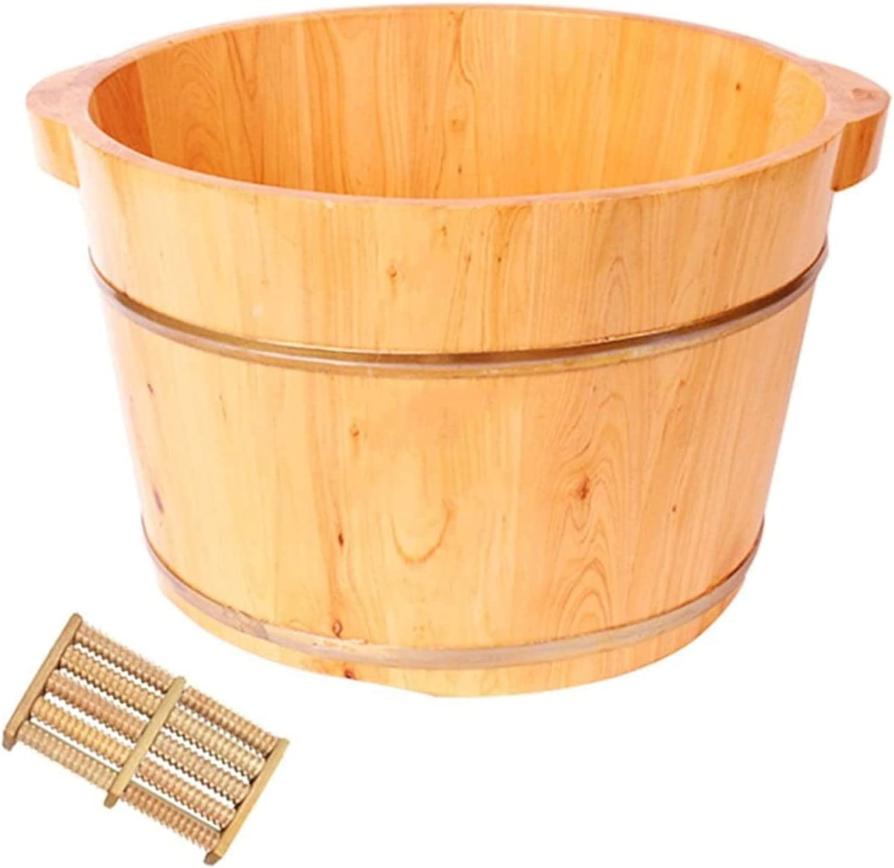 LIZHIQIANGLZQzuyupen OFFicial shop Max 62% OFF Pedicure Bowl Wooden and Sturdy Basin Foot