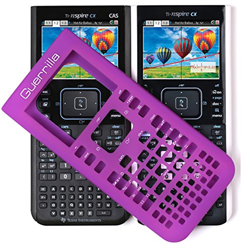 Guerrilla Silicone Case for Texas Instruments TI Nspire CX/CX CAS Graphing Calculator, Purple Photo #9