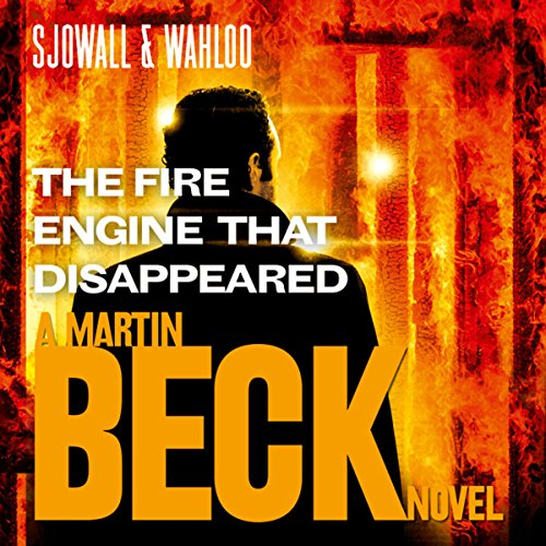 The Fire Engine That Disappeared  audiobook cover art