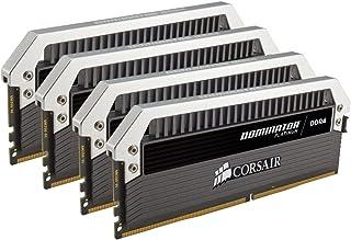 Corsair Dominator Platinum - Módulo de Memoria XMP 2.0 de Alto Rendimiento de 64 GB (4 x 16 GB, DDR4, 3200 MHz, C16)