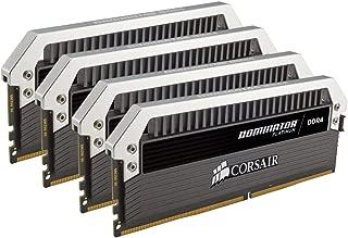 CORSAIR Dominator Platinum 16GB (4x4GB) DDR4 3000MHz C15 Desktop Memory