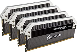 CORSAIR DOMINATOR PLATINUM 64GB (4x16GB) DDR4 3200MHz C16 Desktop Memory