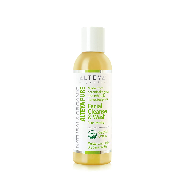 Alteya Organics Facial Cleanser Wash US National uniform free shipping Charlotte Mall Jasmine 150ml - Pure
