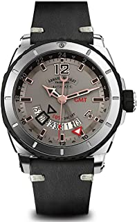Armand Nicolet Gents-Wristwatch S05 GMT Date Analog Automatic A713AGN-GS-PK4140NR