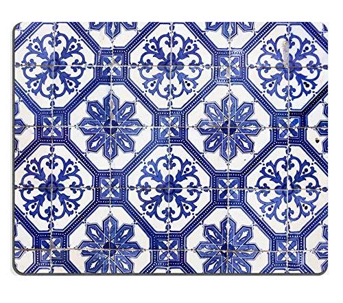 Hokdny Alfombrilla de ratón Detalle de los Azulejos Tradicionales de la fachada de la casa Vieja Lisboa Portugal Imagen 25931720