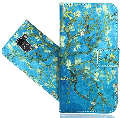 FoneExpert® Wileyfox Swift 2X Handy Tasche, Wallet Hülle Flip Cover Hüllen Etui Hülle Ledertasche Lederhülle Schutzhülle Für Wileyfox Swift 2X