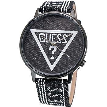 GUESS ゲス 腕時計 オリジナルズ ブラックデニム V1012M2 [並行輸入品]