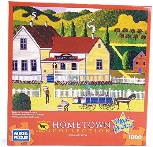 Hometown Collection General Store 1000 Piece Jigsaw Puzzle By Heronim