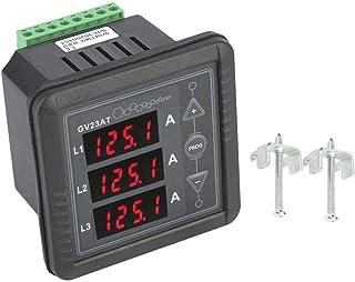 Probador de medidor de corriente CA trifásico de generador 165-275V Amperímetro de pantalla digital de tubo LED de 4 bits para medir corrientes CA trifásicas