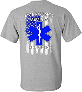 Patriot Apparel EMS Emergency Medical Services T-Shirt