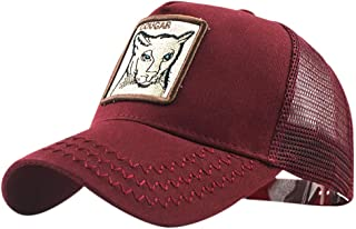 Men's Farm Animal Hats Embroideried Square Patch Cotton Unisex Snap Back Trucker Caps Dad Hats Various Patterns by PERSOLE