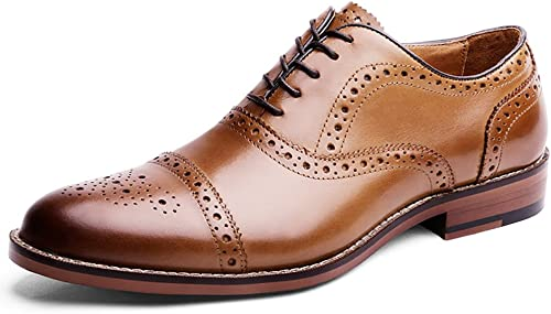 DESAI Chaussures de Ville à Lacets pour Homme Oxford