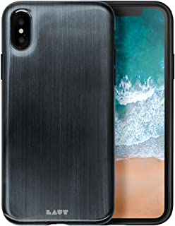 LAUT HUEX Metallic Back Case for Apple iPhone X - Noir