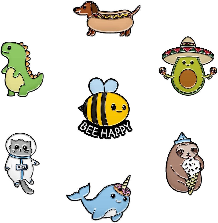 Trust 7 Cute Pins for OFFicial store Kids J Backpacks Enamel -
