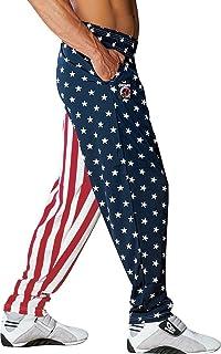 Vhlk07@P Mens Supernatural Jogger Sweatpants Elastic Waist Jersey Pant with Pockets