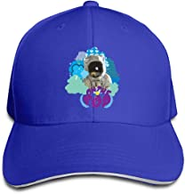 Baseball Cap Golf Hat Unisex Dad Cap Space Monkey On The Top Strapback Adjustable