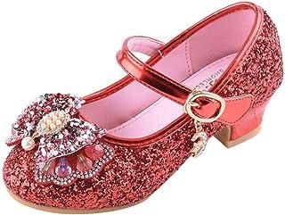 f111722df9566 Moonuy Chaussures de Princesse Fille Chaussure de Danse Sandales pour  Latines Tango Jazz Chaussures de Pratique