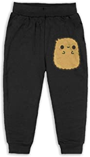Easionerol Cute Chicken Nugget Boys Long Sweatpants Jogger Trousers
