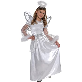 amscan- Disfraz Infantil de ángel de 4 a 6 años, 1 Unidad, Color ...