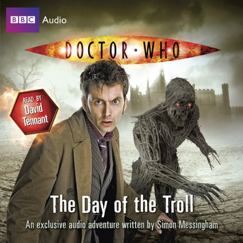 Doctor Who: The Day of the Troll audiobook cover art