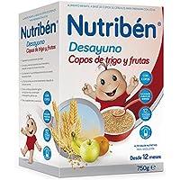 Nutribén Papilla Desayuno Copos Trigo y Frutas - 130 gr