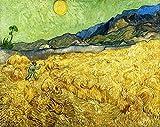 Deerbird Puzzle Classici 1000 Pezzi, Jigsaw Puzzle Pittura di Van Gogh - Campi di grano co...