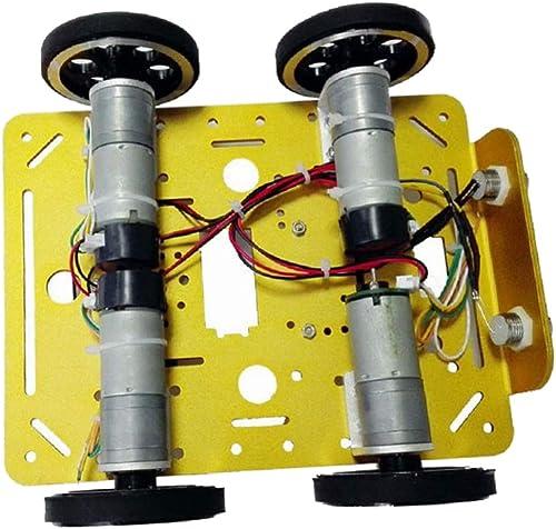 F Fityle C200 Anf er 4WD Smart Roboter Auto fürgestell Kit DIY mit Motor Für Arduino