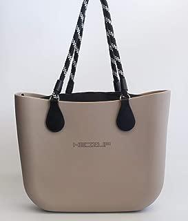Hedzup 2018207 Latte Moulded Large Tote Bag, Latte, Large Tote