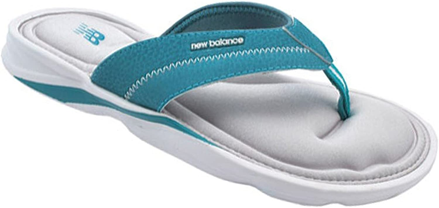 New_Balance Womens Zen Sandal, bluee, 6 B(M) US