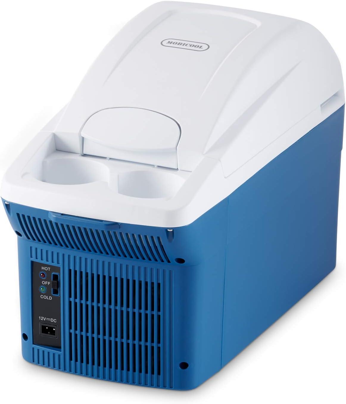 12//230 V A++ Nevera Termoel/éctrica 37 L Azul Metalizado Mobicool MT38W AC//DC