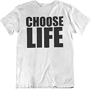Choose Life - Retro Mode-Party-T-Shirt - Herren Damen Unisex