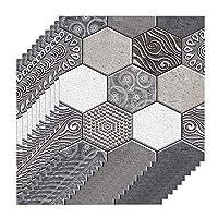 Tooart 3次元の壁紙,3次元耐水性防湿リムーバブル粘着壁紙ピール&スティックPVCウォールステッカー用リビングルームバスルームキッチンカウンタートップ