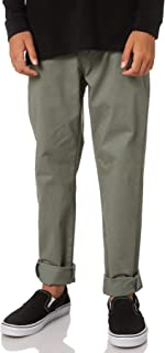 Swell Boys Boys Tempest Chino Pant - Teens Cotton Fitted Green