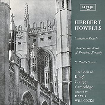 Howells: Te Deum and Jubilate (Collegium Regale); Vaughan Williams: Three Shakespeare Songs