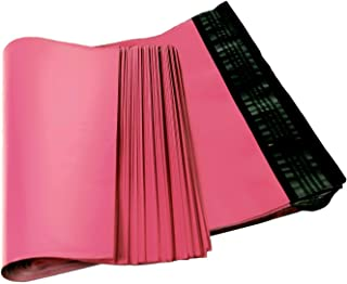Poly mailers 9x12 Shipping Bags 9 x 12. Pack of 100 Poly envelopes. Hot Pink mailing Bags 2.5 mil Thick. Peel and Seal, Waterproof, Lightweight. Wrapping, Packing, Packaging.