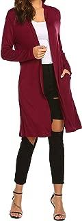 Best knee length cardigan sweater Reviews