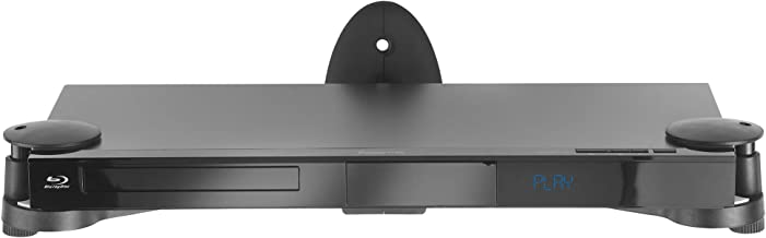VonHaus Floating Adjustable Shelf Wall Mount Bracket for DVD Players, Blu-Ray, Sky, AV, PS3, Xbox