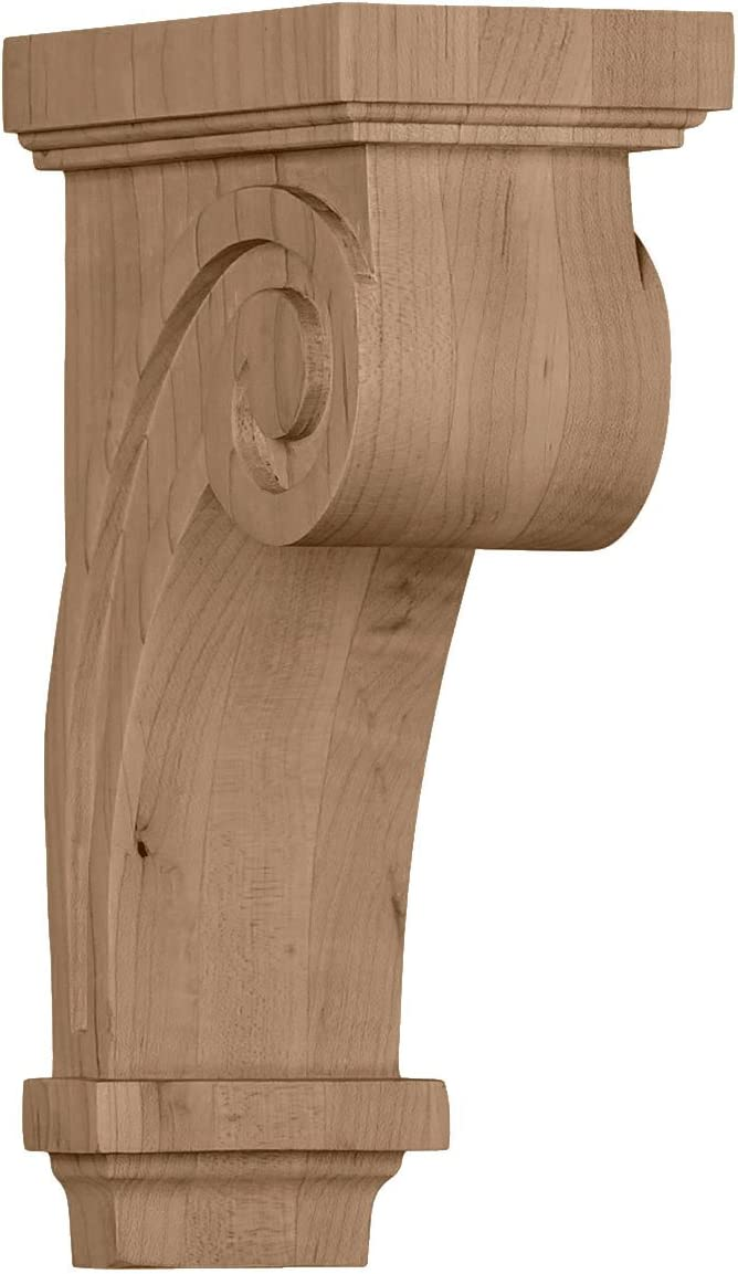 Ekena Millwork COR03X05X09SCRO-CASE-6 Factory SEAL limited product Popularity Primed Corbel